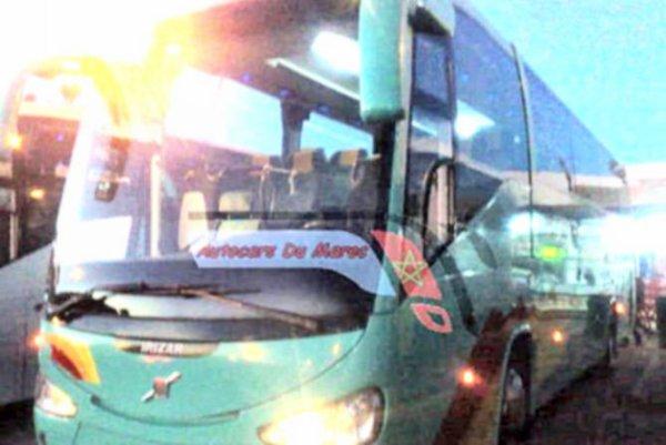 10-10-2012 - Maroc - Accident d'autocar entre Casablanca et Settat - 8 personnes sont mortes et 18 autres blessées dont 4 grièvement.