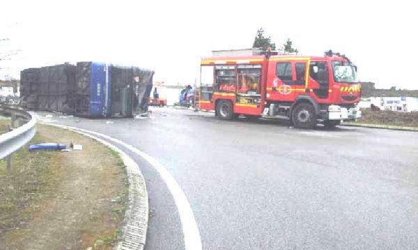 17-03-2012 - France - Quimper - Enquêtes - Accident de car Salaün : une défaillance du système de freinage selon le procureur - 3 blessés graves.