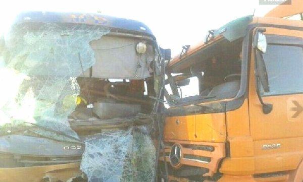 15-03-2013 - Grave accident d'un autocar qui revenait d' un pélérinnage - à Diourbel. 7 morts.