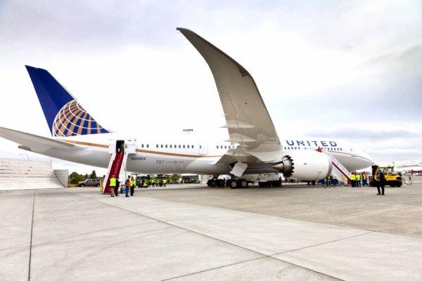 20-05-2013 - Boeing 787 - Le Boeing 787 reprend ses vols aux Etats-Unis
