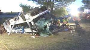 17-10-2009 - Espagne - Grave accident d'un autocar venu des Pays-Bas - Un mort et une vingtaine de blessés en Espagne