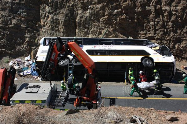 16-03-2007 - 28-07-2013 - Afrique du Sud - Grave accident autocar Double Decker - 24 personnes tuées à Hex River Valley. CAPE TOWN