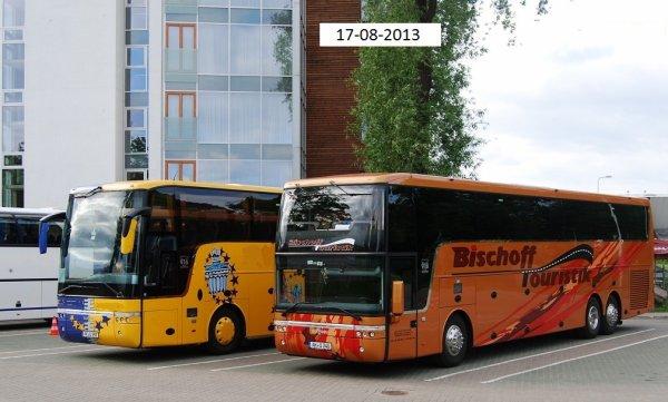 17-08-2013 - France - Saône et Loire - Un autocar allemand de chez Bischoff Touristik percute l'arrière d'un camion sur l'autoroute A6 à Fleurville, entre Mâcon et Chalon-sur-Saône - Les deux chauffeurs du car sont morts ainsi que des blessés graves.