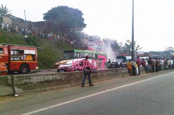 13-07-2013 - Côte d'Ivoire - A peine livrés, les bus de la Sotra explosent ! Société des transports abidjanais