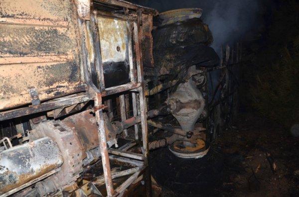 01-02-2013 - Chine - Gansu - Accident Autocar - 14 morts et 32 blessés dans un accident de la route au Gansu.