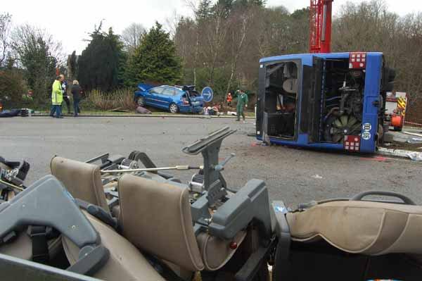 23-09-2013 - France - Autocar Salaün Voyages - Accident de car de Quimper. Prison avec sursis requise contre le chauffeur et une amende de 150 000 ¤ contre Salaün
