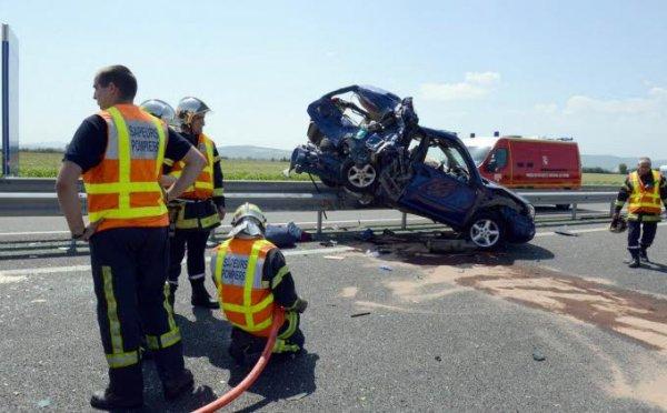 27-07-2013 - Haute Loire - Accident mortel sur l'A89 : le conducteur de l'autocar n'a «pas pu éviter la collision»