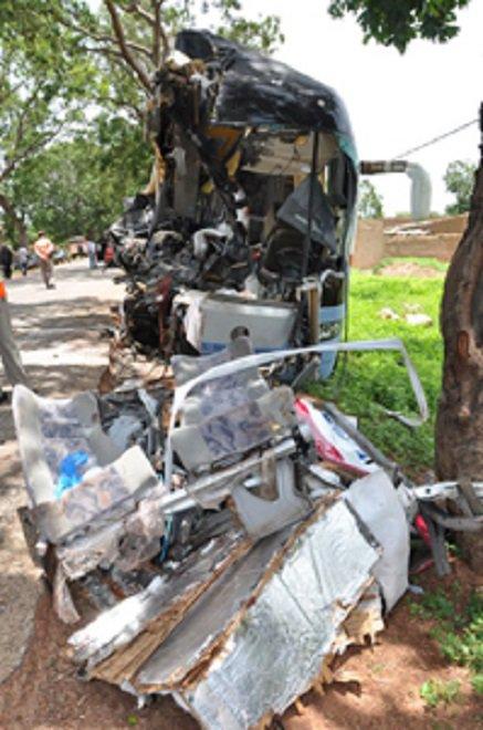 28-07-2013 - Accident de la route à Sabou : 10 morts sur le coup, 12 blessés
