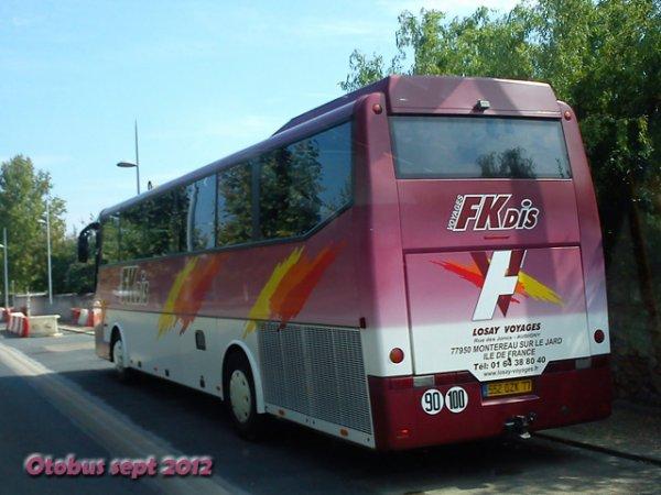 17-10-2009 - SERAINCOURT - Sortie de route d'un autocar de LOSAY Voyages FK.DIS - 15 blessés après un accident de bus dans le Rethélois : notre vidéo sur place -