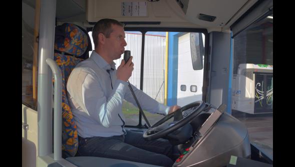26-02-2014 -  Aisne - Soissons - Première en France - des anti-démarrage éthylotests dans les bus