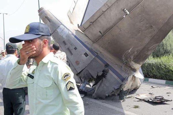10-08-2014 - IRAN - Crash d'un avion - Un avion Antonov 140 de la compagnie aérienne iranienne Sepahan Air, s'est écrasé à Téhéran près de l'aéroport Mehrabad, ce dimanche, faisant près de 40 (50) morts, lors d'une liaison interne entre Téhéran et Tabass.