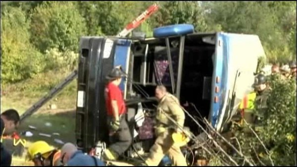 24-09-2014 - New Castle - New York - Conducteur accusé dans l'accident mortel de bus Delaware