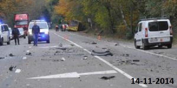 04-11-2014 - Liège - Sart-Tilman - Héros - sauvetage de personnes - acte d'héroïsme - Le héros qui a percuté volontairement le bus dans la côte du Sart-Tilman ne devra rien payer