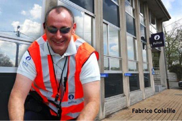 10-01-2015 - Sambreville et Jemeppe-sur-Sambre - Un Flic Policier Ripoux Fabrice Coleille arrêtait des camionneurs étrangers sur la N98 aux limites de Sambreville et Jemeppe-sur-Sambre avant de réclamer l'argent de perceptions immédiates qu'il empochait indûment pour lui.