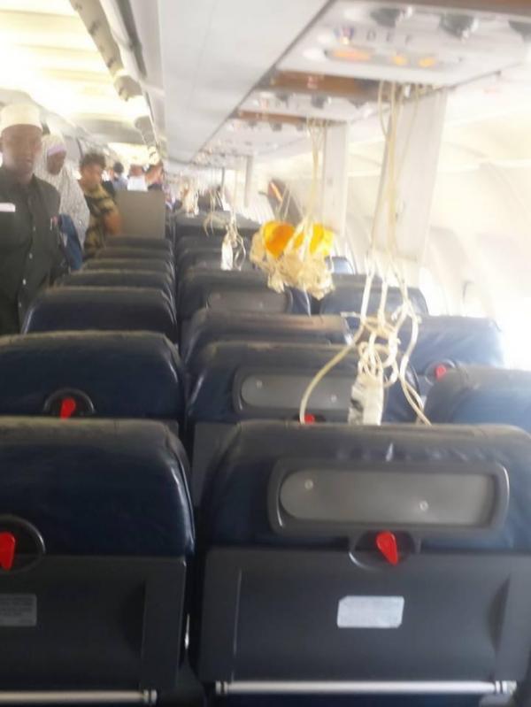 02-02-2016 - Explosion Bombe à bord de l'avion Airbus A321 - Un passager a disparu en plein vol. L'explosion qui a obligé mardi un avion de la compagnie Daallo Airlines à atterrir en urgences à Mogadiscio est bien due à une bombe.