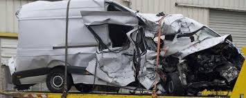 25-03-2016 - France - Moulins - Montbeugny - Un minibus percute un poids lourd sur la RCEA (RN79) en France, 12 morts