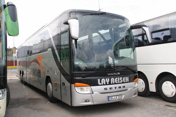 04-06-2016 - France - Drôme - Saint-Uze - Un autocar allemand (Sarrebourg) de chez LayReisen effectue une sortie de route, culbute les barrières de sécurité avant de chuter en contrebas de l'autoroute. 18 jeunes blessés dans cet accident de car sur l'A7