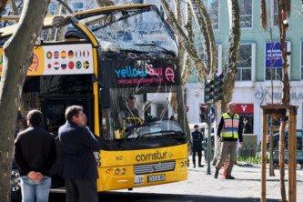 20-02-2018 - Portugal - Lisbonne - Deux Belges blessés dans l'accident d'un bus à impériale