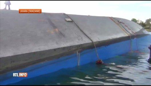 21-09-2018 - Tanzanie - Ukara - Ukerewe - Nauffrage du Ferry MV Nyerere  - Au moins 86 morts dans le naufrage d'un ferry surchargé sur le lac Victoria en Tanzanie