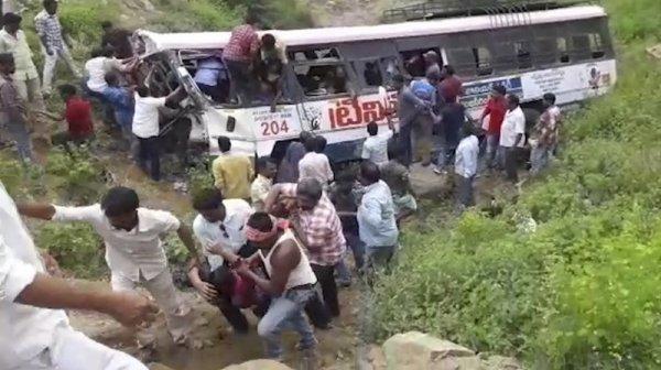 17-04-2019 - Portugal - Madère - Caniço - Portugal: au moins vingt-neuf morts dans l'accident d'un bus touristique sur l'île de Madère