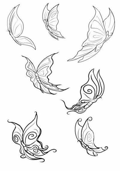 les papillions