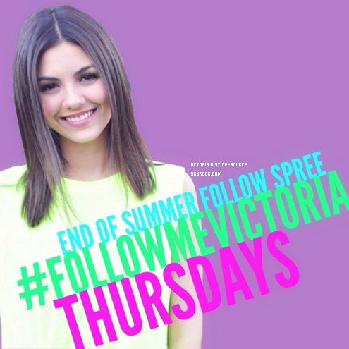 Victoria Justice Twitter ↛↠ ♥
