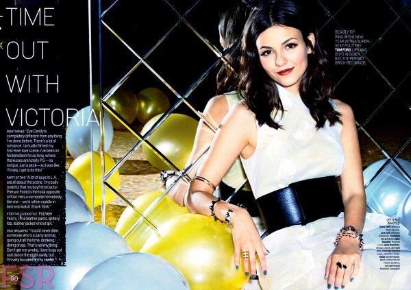 Victoria Justice & Cosmopolitan ♥
