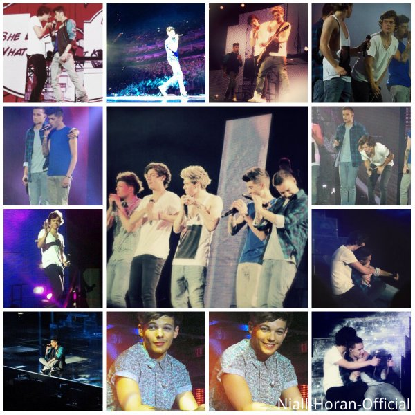 (24.02) Concert à l'O2 Arena (Londres): Pendant Little Things / Tenue 3 & Gifs ♥