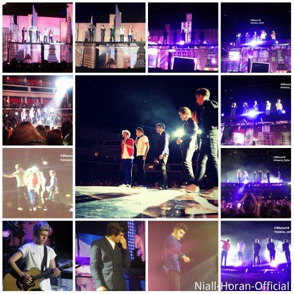 (01.03) Concert au Motorpoint Arena (Cardiff, Pays de Galles): Tenue 1, 2 & 3 / Liam remontant le t-shit de Niall ;p / Niall dansant ;) / Lirry *.* ♥