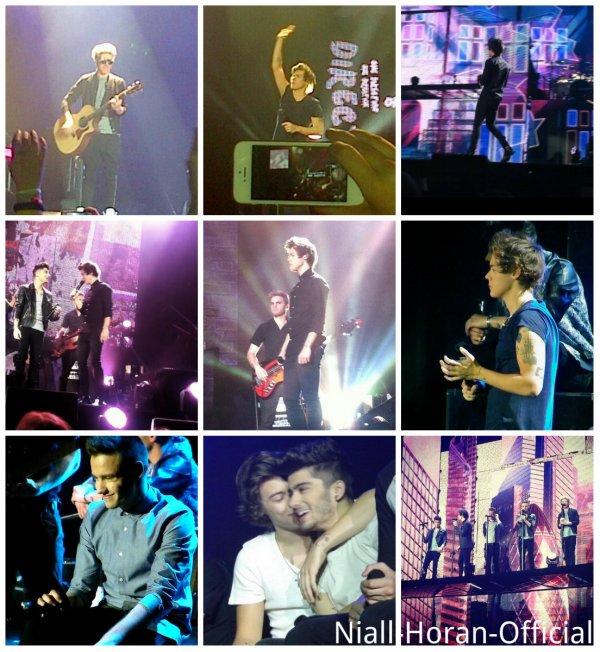 (02.04) A Londres: Niall, Louis & Harry avec des Fans / Danielle & Eleanor au concert / Photos du concert à l'O2 Arena ♥