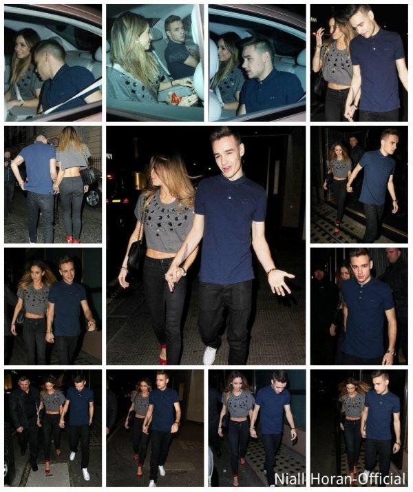 (02.04) A Londres: Gifs du concert à l'O2 Arena / Liam & Danielle allant Whisky Mist Club ♥