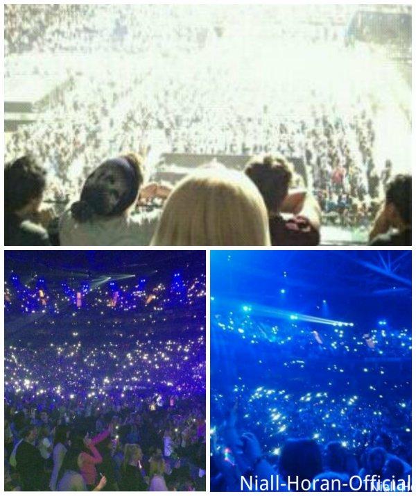 (05.04) Les 5SOS regardant les Gars performer / Harry & Niall avec des Fans / Photos du concert ♥