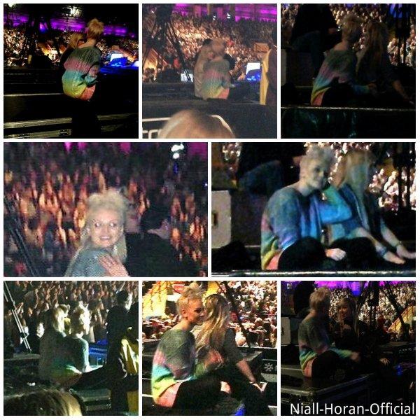 (08.04) A Newcastle: Harry & une Fan / Trisha & Waliyha prêtes pour le concert / Perrie & Katherine (sa meilleure amie) au concert / Photos du concert ♥