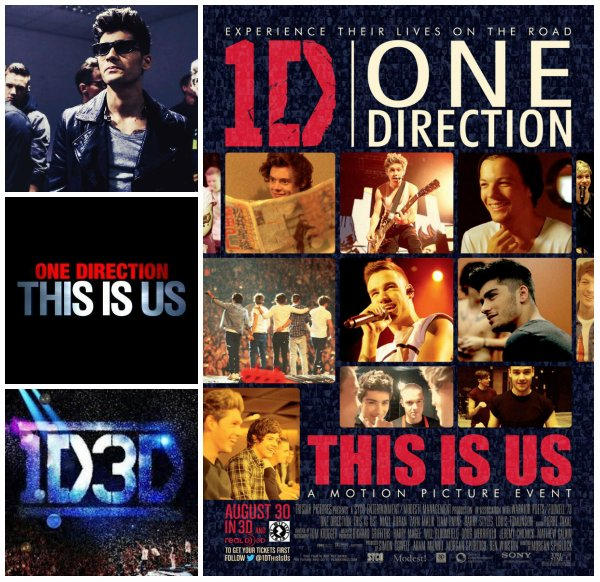Affiche/poster du film 'This Is Us' / (28.04) Harry à Paris / Niall à Londres ♥