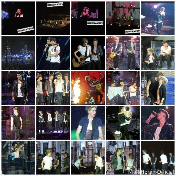 (29.04) Photos du concert de Bercy *.* / Casquette de Niall du PSG ;p ♥