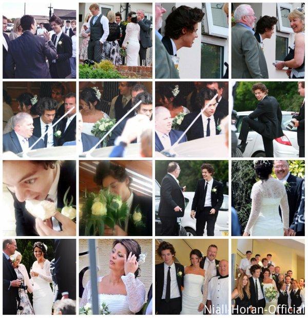 (01.06) Mariage d'Anne & Robin à Congleton (Cheshire), Harry était le garçon d'honneur ♥