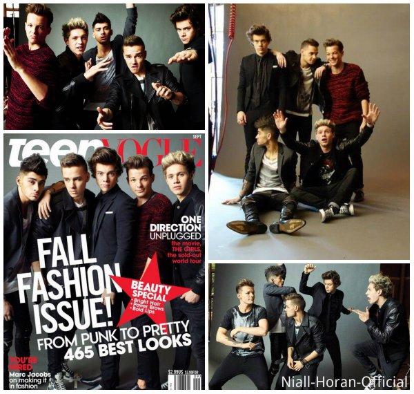 Behind The Scenes de BSE / Les Gars en couverture des magazines GQ & Teen Vogue ♥