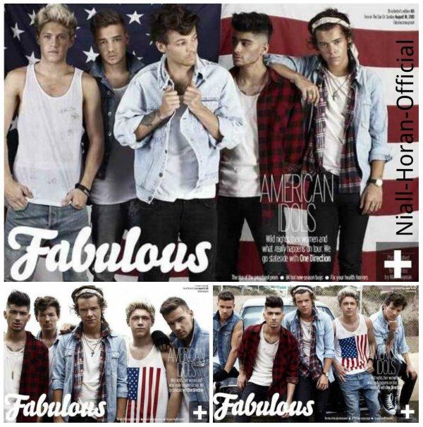Dimanche nouveau photoshoot pour Fabulous des Gars qui sort / Simon parlant du nouvel album des Gars ♥