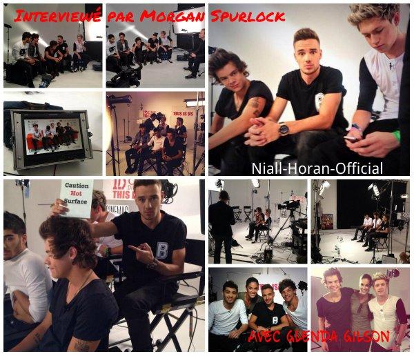 (18.08) Harry avec une Fan / Niall au V Festival à Essex / (19.08) Les Gars arrivant et lors de la conférence de presse pour This Is Us à Londres ♥