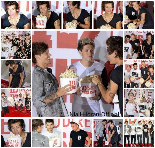 (19.08) Les Gars sur le tapis rouge de la conférence de presse pour This Is Us à Londres et avec des Fans ♥