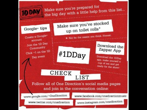 Le 23 Novembre 2013: 1D DAY (=7h de livestream) de 20h à 3h du mat´ (+liens) !!!! ♥