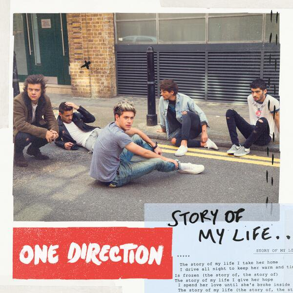 """Story of my life"" (nouveau single: sortie le 28 Octobre) ♥"