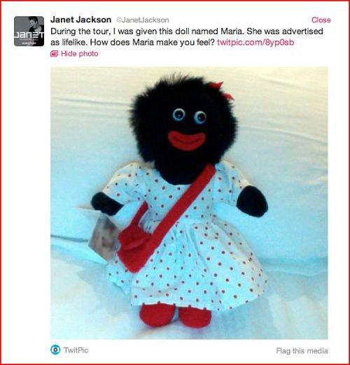 Janet Jackson reçoit un cadeau déplacé pendant sa tournée