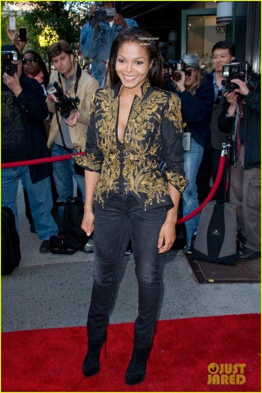 """Janet Jackson: Inauguration de l'exposition """"Supermodels!"""