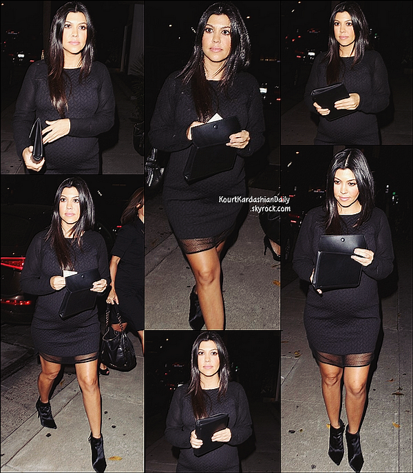 . 23/10/2014 : Kourtney s'est rendue au Brian Bowen Smith WILDLIFE Show organisé par Casamigos Tequila au De Re Gallery dans le West Hollywood. .