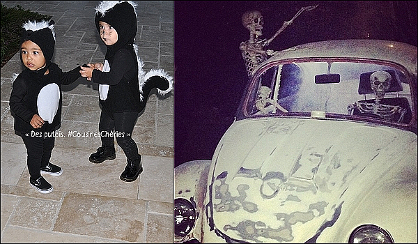 . 31/10/2014 : Kourtney a posté une photo à l'occasion d'Halloween. .
