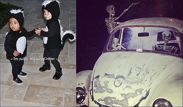 . 31/10/2014 : Kourtney a posté une photo à l'occasion d'Halloween. .