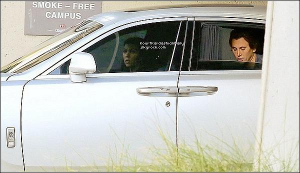. 10/11/2o15 : Kourt, Kim & Jonathan Cheban sont allés voir Lamar Odom au « Cedars-Sinai Hospital » - à L.A. .