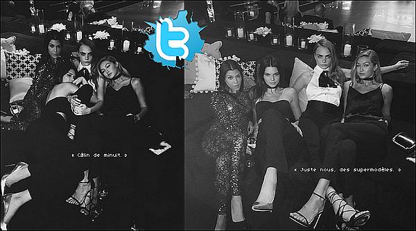 . 21/11/2o15 : Kourtney, Kris & Corey sont allés à « L'anniversaire de Diddy Combs » - à Los Angeles ● Kourtney porte des Escarpins Gianvito Rossi à 490¤.  .