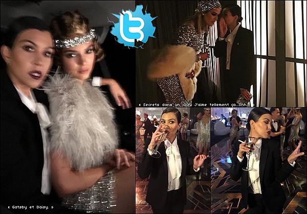 . o6/11/2o15 : Kourtney & sa famille sont allés à la « Fête d'Anniversaire » de Kris - à Los Angeles. ● Kourtney porte une Veste Yves Saint-Laurent à 2290¤.  .